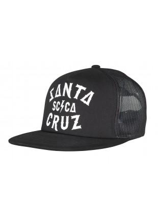 Kšiltovka Santa Cruz SCA cap black