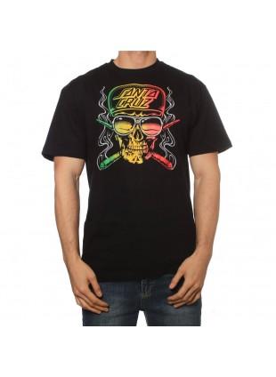 Triko Santa Cruz Stoner Skull black