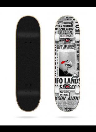 """komplet skateboard FLYING SAUCERS 8.25""""X31.85"""" JART COMPLETE"""