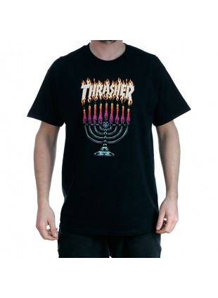 Triko Thrasher Menorah black