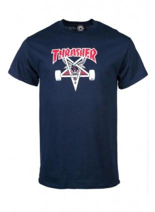 Triko Thrasher Two_Tone Skategoat navy blue