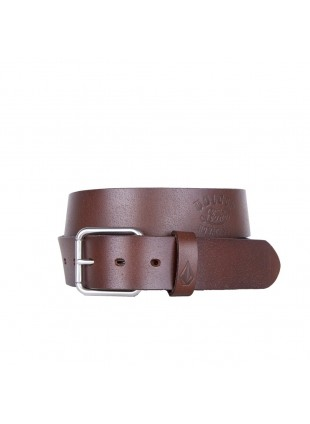 Pásek Volcom Stone Army belt brown
