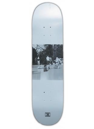 """Deska 35mm PITU - WHITE 8,25"""" medium concave"""