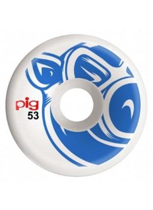 kolečka PIG WHEELS - Head Blue C-Line 53Mm
