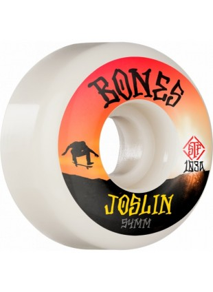 kolečka BONES WHEELS PRO STF Skateboard Wheels Joslin Sunset 54mm V1 Standard 103A