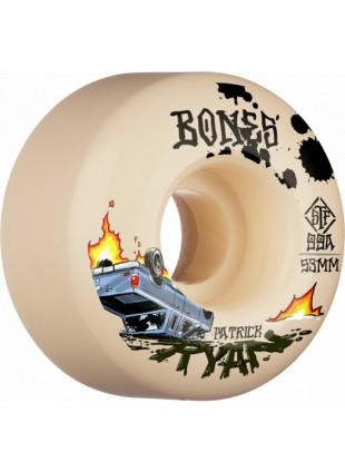 kolečka BONES WHEELS PRO STF Skateboard Wheels Ryan Crash & Burn 53mm V4 Wide 99A