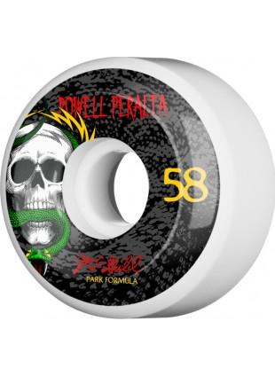 kolečka Powell Peralta McGill Skull and Snake Skateboard Wheels 58mm 103A 4pk