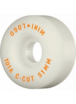 "kolečka Kolečka MiniLogo C-CUT ""2"" 51mm X 101 WHITE"