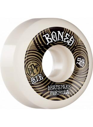kolečka BONES WHEELS SPF Skateboard Wheels Ripples 58mm P5 Sidecut 81B 4pk