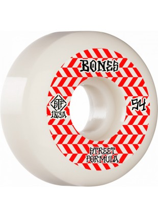 kolečka BONES WHEELS STF Patterns Sidecut V5 54mm 103a 4pk