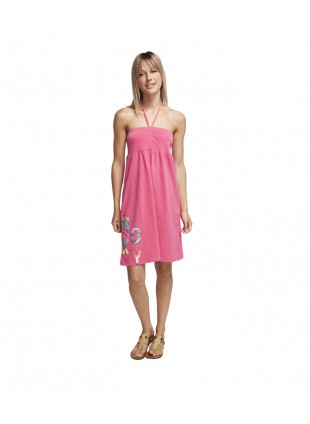 šaty Roxy Holiday Dress Crazy Hot Summer bright pink