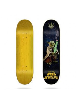 """deska Weed Nation """"Yoda"""" 8.375""""x31.85"""" LC Jart Deck"""