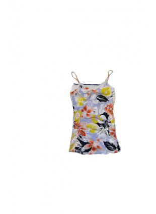 ROXY FLOWERS indigo top