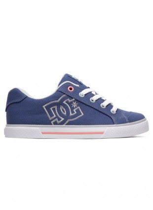 boty DC Chelsea TX blue grey