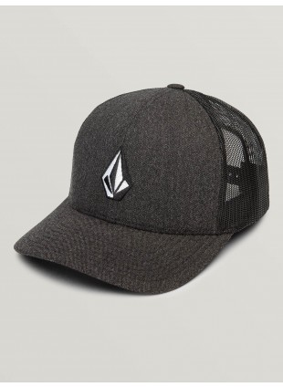 kšiltovka Volcom Full Stone Cheese Hat Charcoal Heather