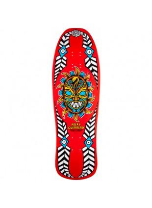 deska Powell Peralta Guerrero Mask Skateboard Deck Red - 10 x 31.75