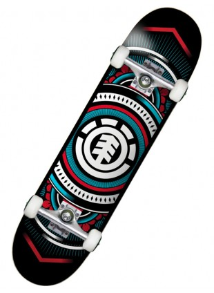 komplet skateboard ELEMENT HATCHED BLUE R 7,75""
