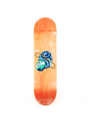 Deska Polar Hjalte Halberg Planet Emile P2 Shaped Deck  Teal Stain 8.5x32.125