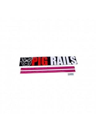 lišty slide PIG WHEELS - Neonrails Pink