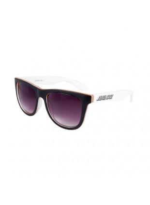 sluneční brýle Santa Cruz Bench Sunglasses white orange