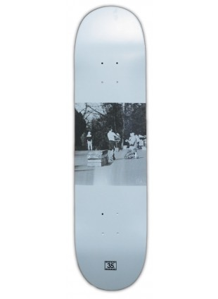"Deska 35mm PITU - WHITE 8,25"" medium concave"