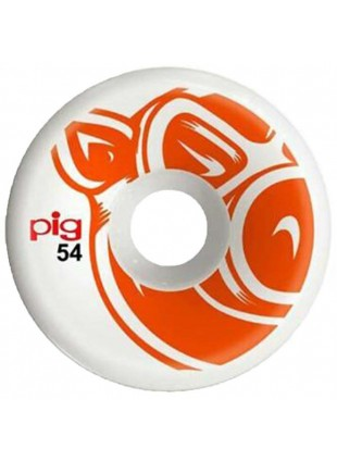 kolečka PIG WHEELS - Head Orange C-Line 54Mm