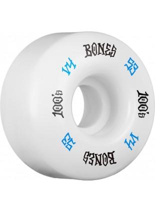 kolečka BONES WHEELS 100's #12 OG Formula 53 x34 V4 White