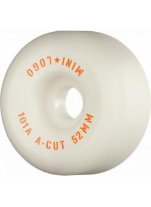 """Kolečka Mini Logo A-CUT """"2"""" 52mm X 101 WHITE 2020"""