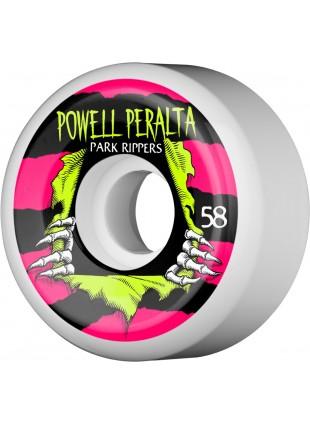 kolečka Powell Peralta Ripper Skateboard Wheels 58mm 104A 4pk