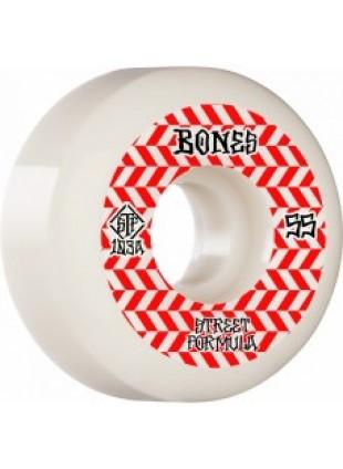 kolečka BONES WHEELS STF Patterns Sidecut V5 55mm 103a 4pk