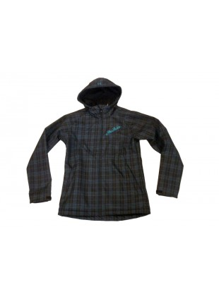 HORSEFEATHERS Elya black/green jacket bunda