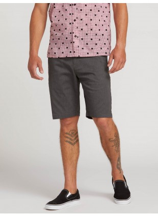 kraťasy Volcom Frickin Modern Stretch Shorts Charcoal Heather
