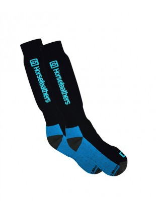 ponožky Horsefeathers Spirit socks Thermoline blue 11-13