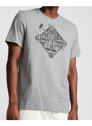 triko Element Rolling T-Shirt - Timber! Spilt Paint Collection