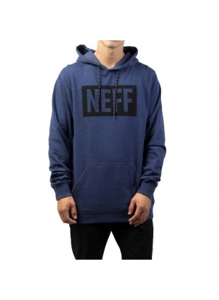 Mikina Neff New World Hoodie navy heather